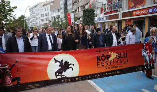 Участие в Международном фестивале «Кероглу» в Турции