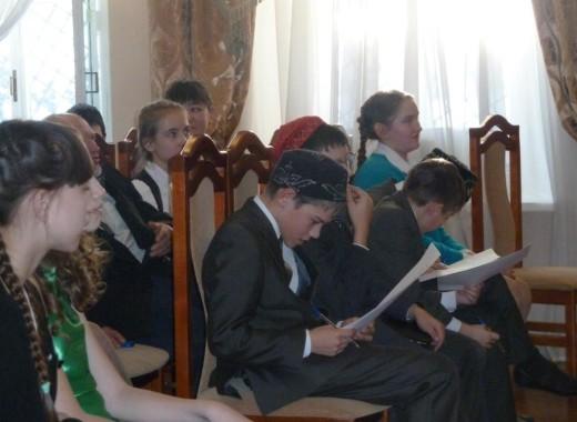 Отчет о проведении «Дня родного языка» в Литературном музее Г. Тукая